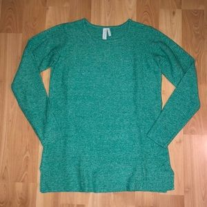 sahalie Sweaters - NWOT Sahalie Best Better Tunic Sweater emerald